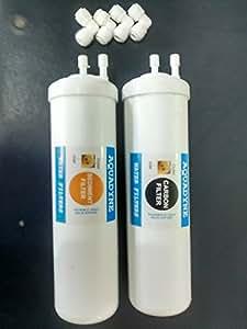 Aquadyne RO Service Nano Size Carbon and Sediment Filter Kit for Aquaguard Aquasure Nano-RO