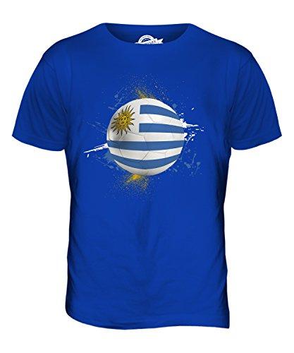 CandyMix Uruguay Fußball Herren T Shirt Königsblau