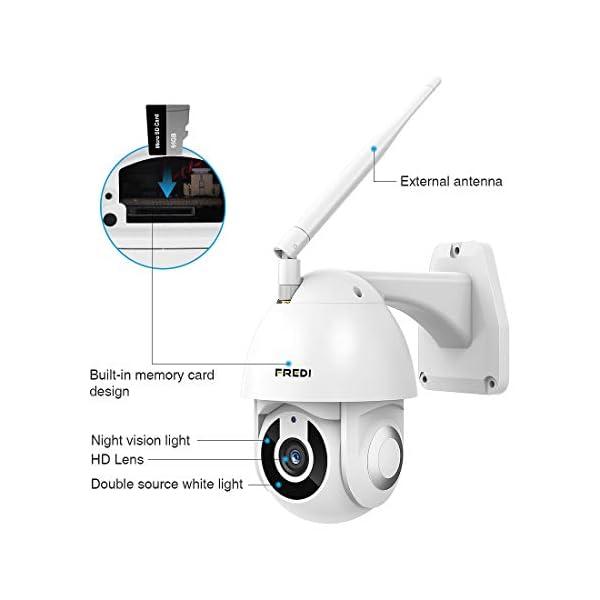 FREDI-HD-1080P-ptz-telecamera-di-sorveglianza-Videocamere-di-Sorveglianza-WIFI-Esterno-con-Rilevamento-del-Movimento-IP65-Telecamera-IP-Camera-Wireless-IP-Cam-senza-fili