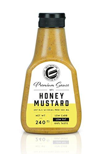 Got7 Premium Sauce No.1 Soße Grillsoße Perfekt Zur Diät Abnehmen Fitness Bodybuilding 240ml (Honey Mustard)