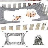 Amaca per culla, amaca migliorata per neonato, regolabile, confortevole, sicurezza per il neonato, letto per dormire, lettino per culla, per neonati, resistente, per neonati (2-12 mesi)