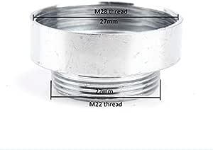 JOYKK M22 Robinet de Filtre /à Eau inverseur Raccord de Tube 1//4pour syst/ème Ro Argent #