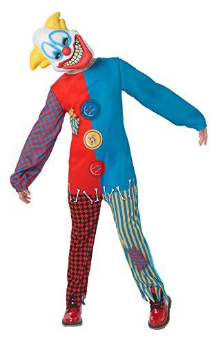Rubie's Großes Scary-Clown-Kostüm für Jungen ()