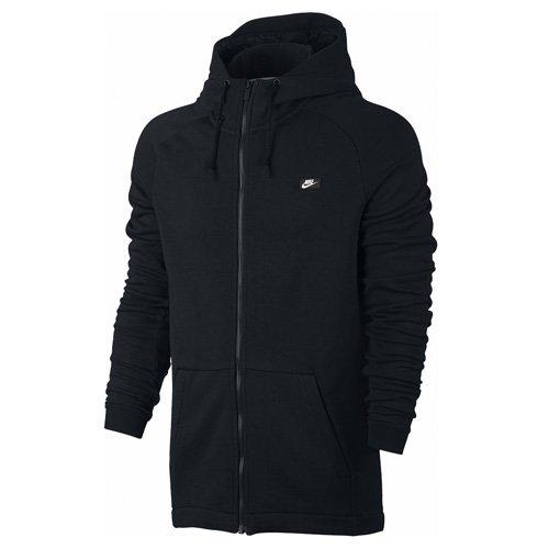 Nike Herren M Nsw Modern Hoodie Fz Ft Training Kapuzenpullover Schwarz/Weiß
