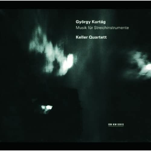 Kurtág: Hommage à Mihály András - 12 Microludes for String Quartet, Op.13 - 9. Pesante, con moto / Leggiero