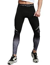Uskincare Hombre Pantalones Deportivo Joggering Compresión Deporte Pantalón
