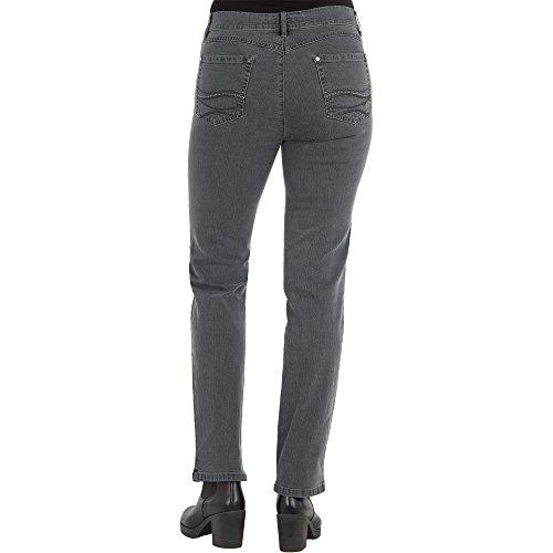 Zerres Damen Jeans Cora Comfort Fit 97 DUNKELGRAU