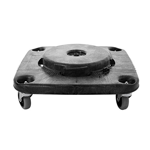 Rubbermaid BRUTE Square Dolly - Black