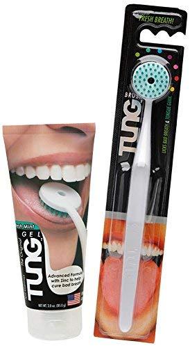 TUNG Pinsel und Gel Zungenreiniger Starter Pack