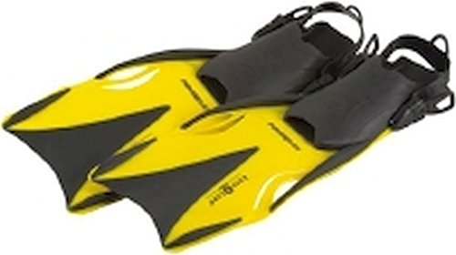 Aqua Lung Powerflex Flosse, Gelb, M/L