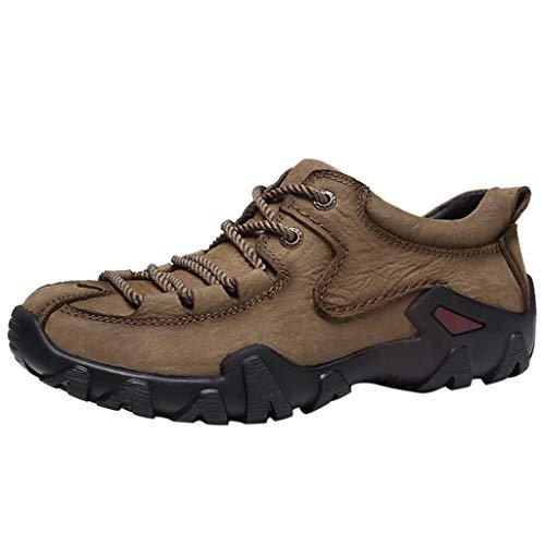 REALIKE Herren Trekking & Wanderhalbschuhe Atmungsaktiv Rutschfeste Mode Sneaker Sportschuhe Turnschuhe für Männer 38-44 EU Running Schuhe Freizeitschuhe Gym Outdoor Fitness Laufschuhe (High-top-osiris Schuhe)
