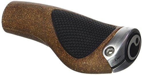 Ergon GP1-L BioKork Fahrradgriff, Brown/Black, L