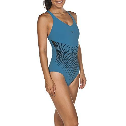 ARES5 Arena Damen Bodylift Badeanzug Maia C-Cup Funktionsbadeanzug, Curacao, 40