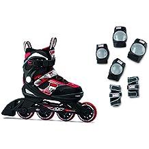 388314a8659 Fila Niños J de One Combo 2 Set Inline Skate