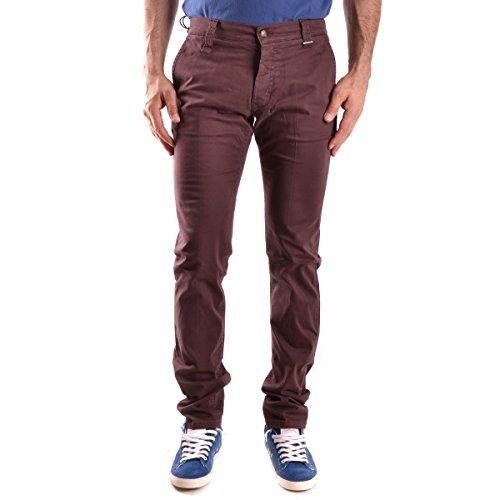 Pantalon Daniele Alessandrini Bordeaux