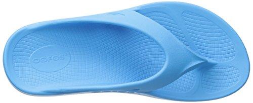 OOFOA|#OOfos Damen Ooriginal Thong Sport-& Outdoor Sandalen Blau (bermuda Blue)