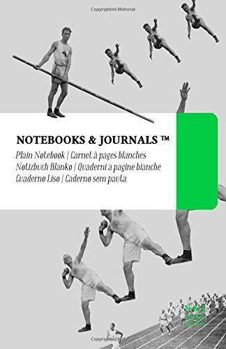Carnet Notebooks & Journals, Jeux olympiques (Collection Vintage), Large, Blanc: Couverture souple (13.97 x 21.59 cm)(Carnet de Notes, Carnet de Voyage, Cahier de Texte)