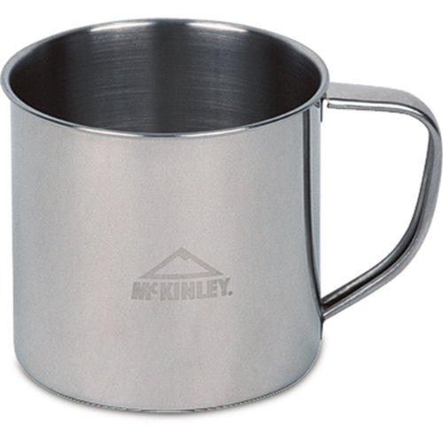 McKinley Becher 0,3 Liter oder 0,6 Liter (Farbe: Edelstahl 0,3 Liter)