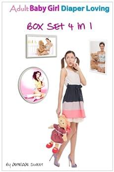 Adult Baby Girl Diaper Loving Box Set (Baby Girl, Diaper