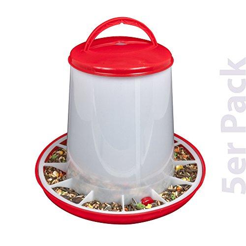 Breker Futterautomat Kunststoff 3 kg 5er Pack