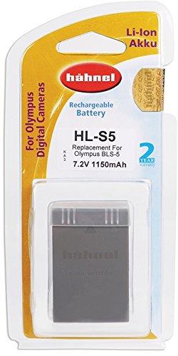 Hähnel HL S5 7,2 V 1150mAh Li-Ion Ersatzakku Typ Olympus BLS-5 für OM-D E-M10/PEN E-PL2/PEN E-PL3/PEN Lite/PEN Mini/Stylus 1