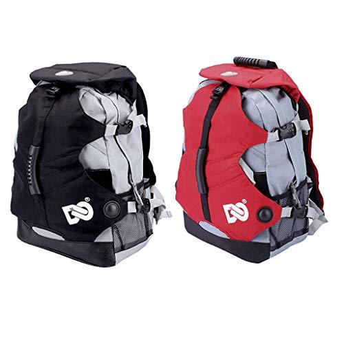 perfk 2 x Rollschuh -Rucksack für Inline-Skates oder Schlittschuhe