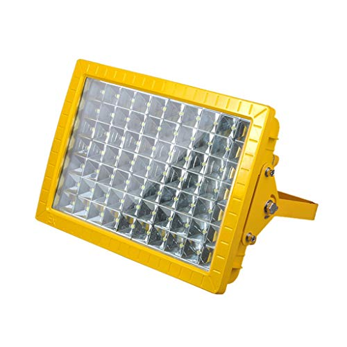 LED Scheinwerfer, Suchscheinwerfer Sicherheit Explosionsgeschützt Notfall Hohe Helligkeit Gas Quadratisches Licht Aufladung Gehärtetes Glas (größe : 120W)