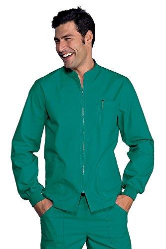 Isacco Casacca Samarcanda Verde, Verde, XL, 100% Cotone, Polso in Maglia