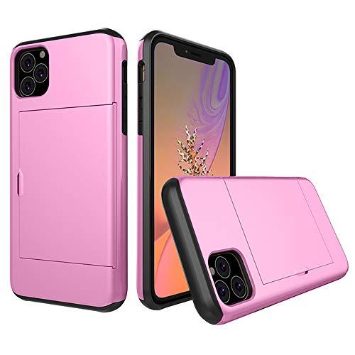 SHRG Adatto per iPhone 11/iPhone 11 PRO/iPhone 11 PRO Maxconchiglia,TPU Silicone Caso, Anti Scivolo E Antiurto,Rosa,iphone11promax