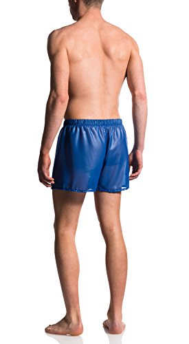MANSTORE - M560 Wetlook Shorts Blue / Blau
