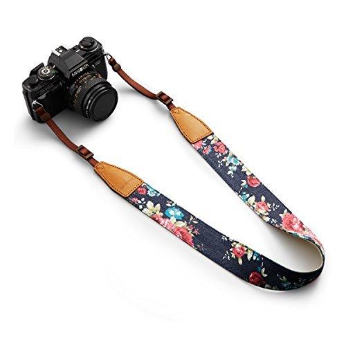 BESTTRENDY Kameragurt Kamerariemen Schultergurt Trageriemen Kamera Gurt für Canon Nikon DSLR Farbe Blau - 4