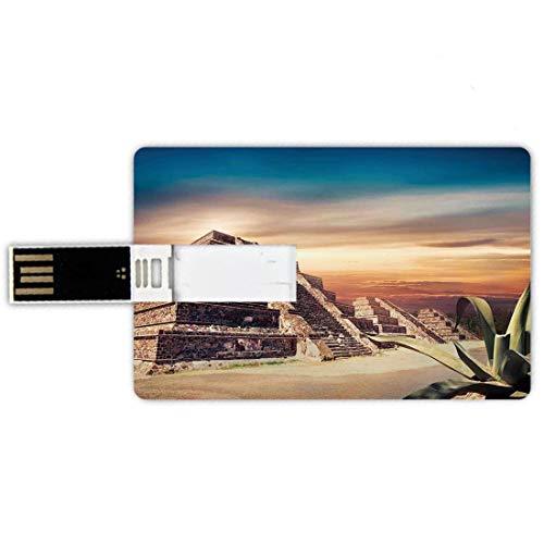 16GB Forma tarjeta crédito unidades flash USB Decoración