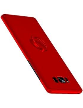 Funda Samsung Galaxy S8 Teryei® 360 Grados Rotaria Kickstand Anillo alta calidad ultra fina Protector completo...