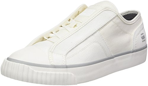 G-STAR RAW Scuba Low, Sneakers Basses Homme Blanc (White)