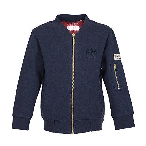 Flight Jacket - Jungen Sweatjacke Sweatshirt aus 100% Bio-Baumwolle