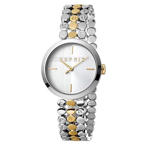 Esprit ES1L018M0065 Bliss Two Tone Gold Silver - Orologio da donna