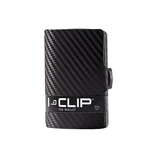 I-CLIP Geldbörse Robutense Gunmetal Black - Carbon (schwarz)