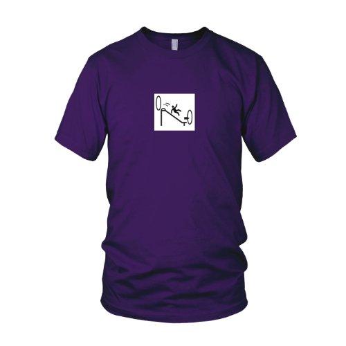 Portal Endless Slide - Herren T-Shirt, Größe: XXL, Farbe: - Glados Cosplay Kostüm