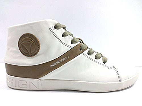 scarpe uomo MOMO DESIGN 41 EU sneakers alto bianco pelle KY716