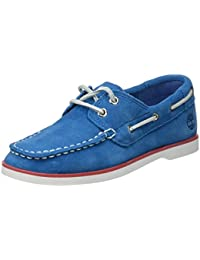 Timberland Unisex-Kinder Seabury Classic 2eye Boatmykonos Blue Hammer Ii Bootsschuhe