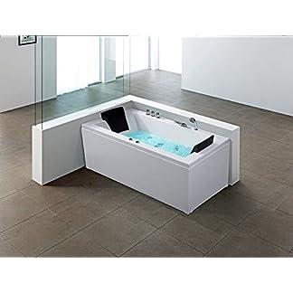 Bañera de hidromasaje – Spa Jacuzzi – Bañera rectangular – Derecha – VARADERO