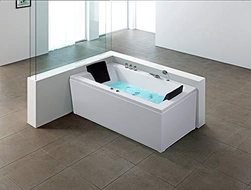 Vasca idromassaggio angolare da interno - vasca spa - versione destra - varadero