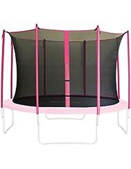 SixBros. Filet de sécurité de rechange rose pour trampoline de jardin 1,85m - 4,60m - dimensions différentes - SN-IN/1954 - Taille 3,05 m 3L