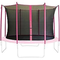 SixBros. Sicherheitsnetz Innennetz Pink für Gartentrampolin 1,85m -4,60m versch. Größen - SN-IN/1954 - Größe 4,60 m 5L