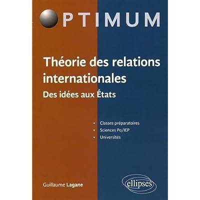 Théorie des Relations Internationales des Idées aux États