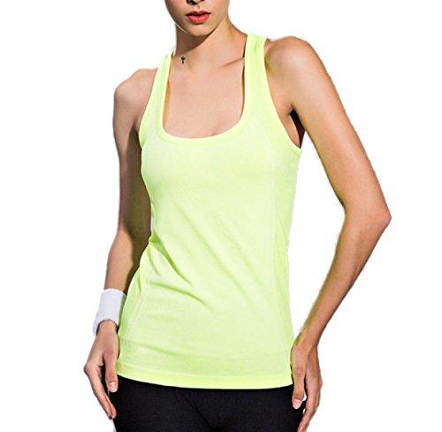 Longueur Moyenne Sans Manches Séchage Rapide Yoga Femme Mince Bretelles Veste De Sport 01
