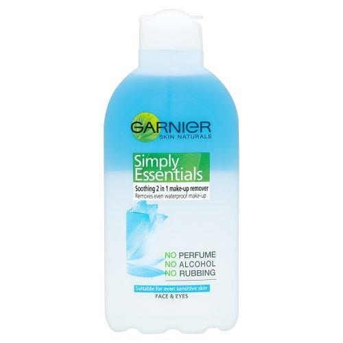Garnier Skin Naturals Simply Essentials Démaquillant 2 en 1 apaisant pour le visage et les yeux 200 ml