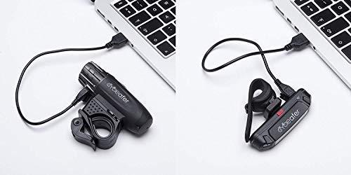 USB Rechargeable Bike Light Set Kids Men Women