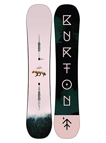 Burton Damen Yeasayer Snowboard, Transparent, 152