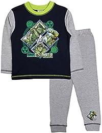 Marvel Boys Kids Avengers The Incredible Hulk Pyjamas PJS Set Size UK 1-10 Years